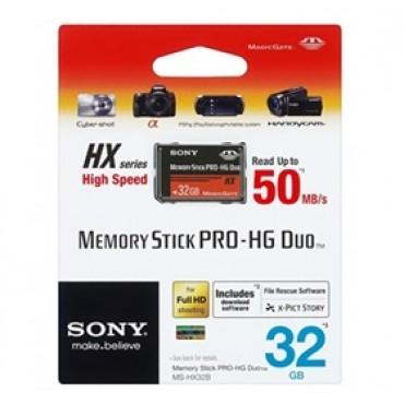 Sony Memory Stick Pro-hg Duo Hx Rev.b 32gb 50m/ S Ffcson32g50mhgx-1