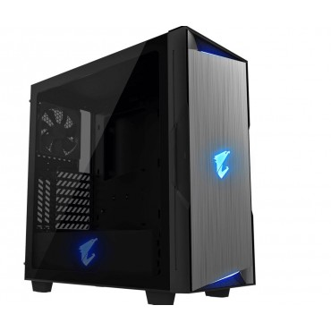 Gigabyte Aorus Ac300G Tempered Glass Atx Mid-Tower Pc Gaming Case GB-AC300G