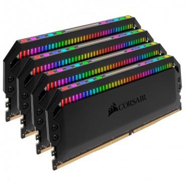 Corsair Dominator Platinum Rgb 32Gb (4X8Gb) Ddr4 3600Mhz Cl18 Dimm Unbuffered 18-19-19-39 Xmp