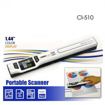 Digitalk Portable Handheld A4 1050dpi Photo & Document Scanner (ci-510) Eledighs510scan
