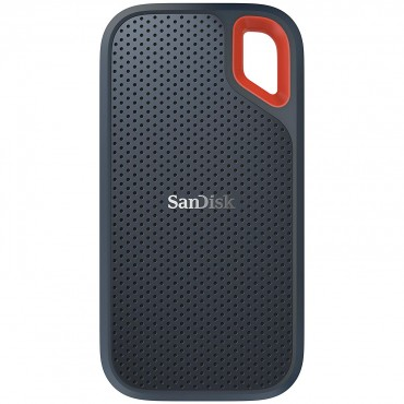 Sandisk Extreme Portable Ssd Usb 3.1 Type C & Type A Compatible Speeds Up To 550Mb/ S Ip55 Dust-Water