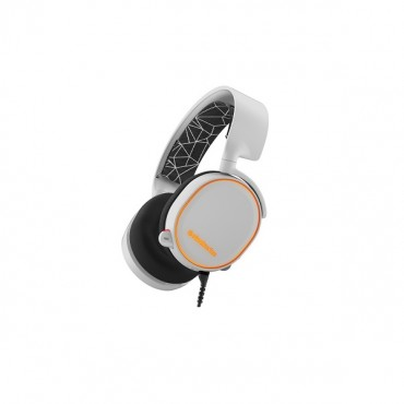 Steelseries White Arctis 5 Multi Platform 7.1 Rgb Usb & 3.5mm Headset Ss-61444