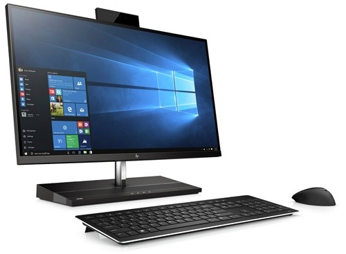 """HP 1000 G1 AIO I7-7700 27"""" PLUS HP CURVED MICROEDGE 27"""" MONITOR FOR $199 (Y6J31AA)"""