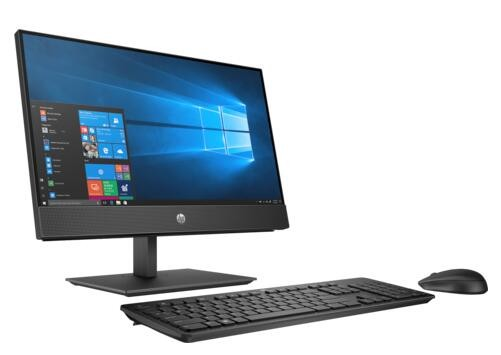 """HP 600 G4 All-In-One Desktop PC 21.5"""" Fhd Touch I5-8500T PLUS HP CURVED MICROEDGE 27"""" MONITOR FOR $199 (Y6J31AA)"""