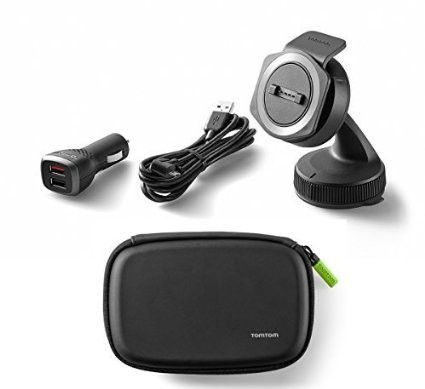 TomTom Car Mounting Kit & Protective Carry Case Bundle