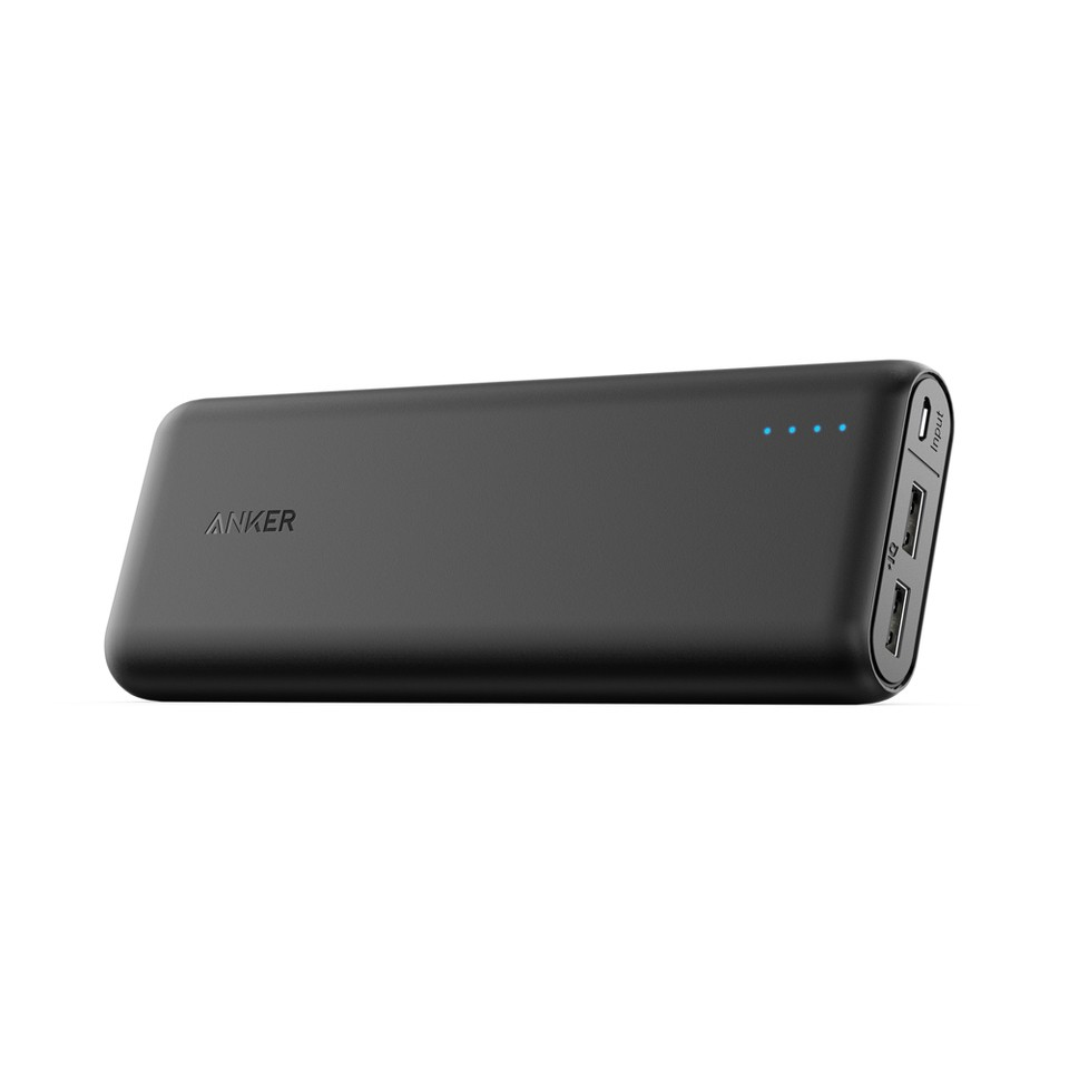 ANKER POWERCORE 20,100MAH PORTABLE USB POWERBANK BLACK