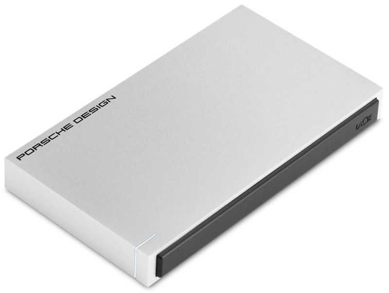 "BENQ LACIE PORSCHE DESIGN PORTABLE 2.5"" 1TB SLIM USB3.0, 2YR"