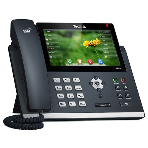 "ADDCOM Yealink SIP T48S Ultra-elegant Gigabit IP 7"" 800x480 Color Touch"