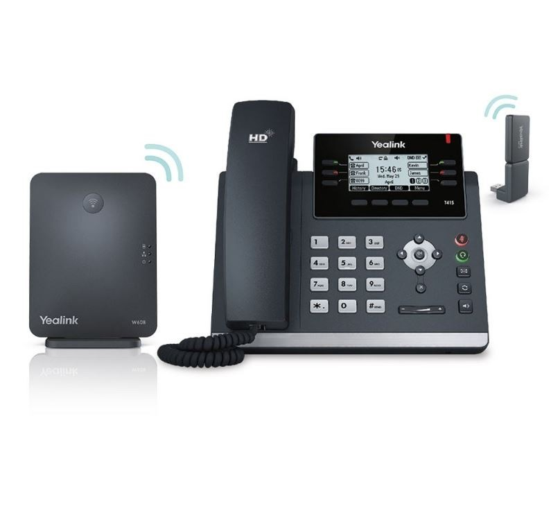 Yealink SIP-W41P telephone DECT telephone Black