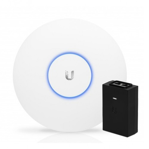 Ubiquiti Unifi Ap Ac Pro 802.11ac Dual Radio Indoor/ Outdoor Access Point - Range To 122m With 1300mbps Throughput-with Poe Adapter Uap-ac-pro-poe