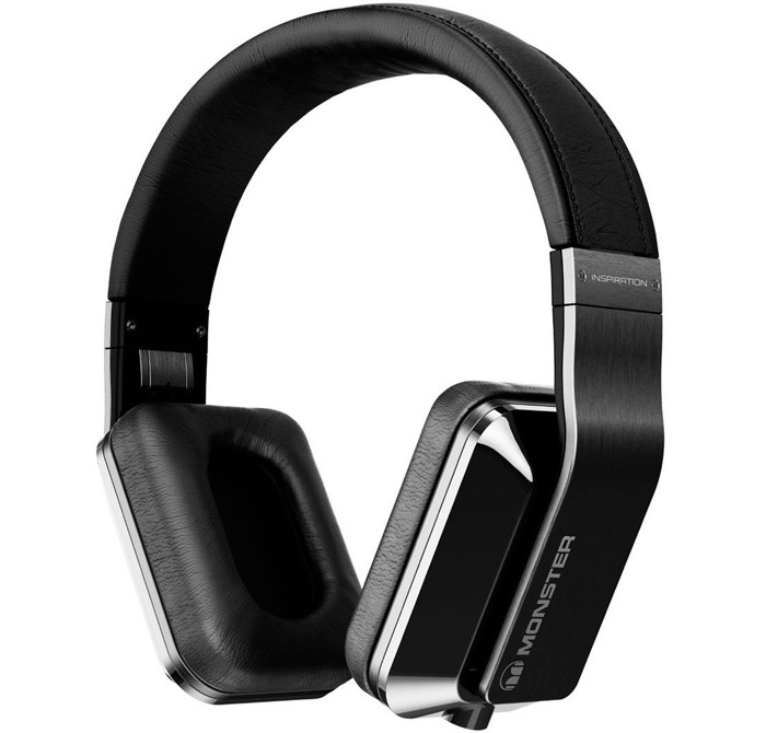 Monster? inspiration active noise cancelling overear headphone white