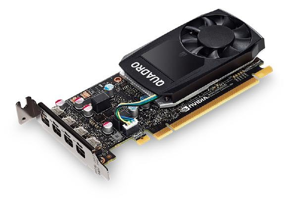 LEADTEK Quadro P620 2GB 128-bit, DDR5 4xmDP, Retail Pack, Comes with ATX and LP bracket. replacing P600 Graphic Card, 40%