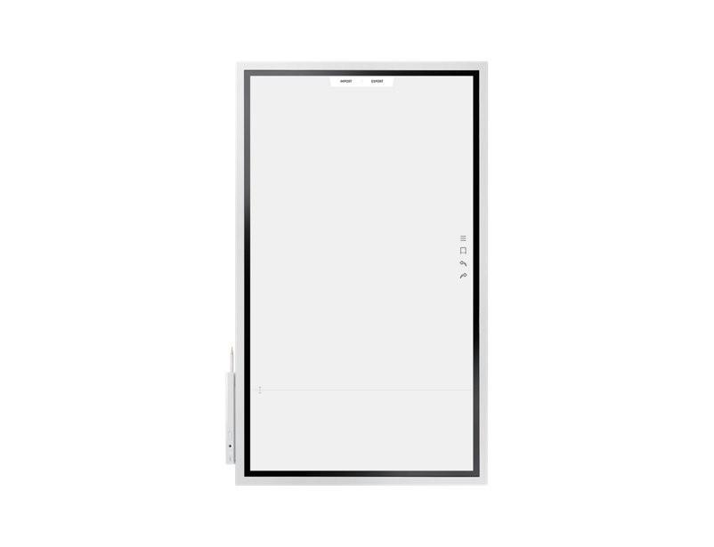 Samsung FLIP 55' Interactive InGlass™ Touch Digital Flipchart with 60Hz E-LED, 3,840 x 2,160 (Landscape) / 2