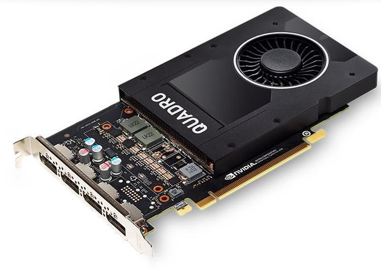 LEADTEK Quadro P2000 PCI-Ex16 5GB DDR5 DPx4, Quadro Sync II, 75W, Max 4 Active Displays, Retail Pack