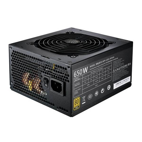 Cooler Master MWE Gold 650 power supply unit 650 W 24-pin ATX ATX Black