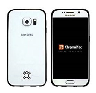 XTREMEMAC MICROSHIELD ACCENT - Black Protective Case for SAMSUNG S6
