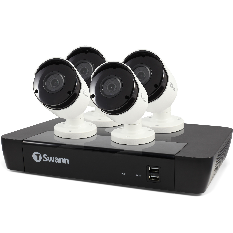 SWANN NVR8-7450 / 5MP / 2TB/ 4 X NHD855 5MP Bullet Camera