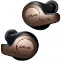 Image 3 of Jabra Elite 65t True Wireless Bluetooth Earbuds & Charging Case 15 Hours Battery, Copper Black 100-99000002-40