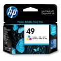 Image 3 of Hp 49a Ink Cartridge Tri-color 51649aa 51649AA