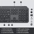Image 6 of Logitech MX Keys Wireless Keyboard 920-009418, Designed for Creatives and Engineered for Coders 920-009418