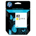 Image 4 of Hp No 82 Ink Cartridge Yellow C4913a C4913A