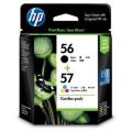 Image 4 of Hp 56/ 57 Ink Cartridge Combo Pack Cc629aa CC629AA