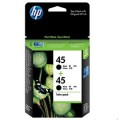 Image 4 of Hp 45 Ink Cartridge Twin Pack Black Cc625aa CC625AA