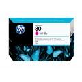 Image 3 of Hp No 80 Ink Cartridge 175ml Magenta C4874a C4874A