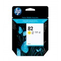 Image 3 of Hp No 82 Ink Cartridge Yellow C4913a C4913A