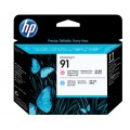 Image 3 of Hp 91 Lt Magenta And Lt Cyan Printhead C9462a C9462A