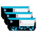 Image 3 of Hp 91, 3 Ink Multi Pack Magenta C9484a C9484A