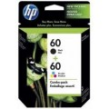 Image 3 of Hp 60 Ink Cartridge Combo Pack Cn067aa CN067AA