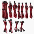 Image 3 of Corsair For Corsair Psu - Red/ Black Premium Individually Sleeved Dc Cable Pro Kit Type 4 (Generation CP-8920226