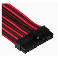 Image 5 of Corsair For Corsair Psu - Red/ Black Premium Individually Sleeved Dc Cable Pro Kit Type 4 (Generation CP-8920226