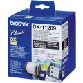 Image 5 of Brother Dk11209 White Small Address Labels 29 X 62mm 800 Labels DK-11209