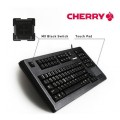 Image 2 of Cherry Compact Keyboard Touchpad Usb Bl 104 Keys With Qwerty & Numeric Keypad Programmable Keys, G80-11900LUMEU-2
