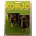 Image 3 of Korjo 2 Pack Reverse Adaptor Set for Australia & New Zealand AA03