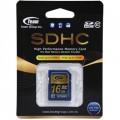 Image 2 of Team Sdhc 16gb Class 10 Sd Card Tg016g0sd28x TSDHC16GCL1001