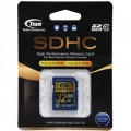 Image 2 of Team Sdhc 32gb Class 10 Sd Card Tg032g0sd28x TSDHC32GCL1001