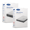 Image 4 of LaCie 1TB USB 3.0 External Portable Hard Drive, for PC & MAC STHY1000800 STHY1000800