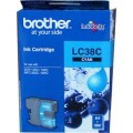 Image 3 of Brother Lc38c Cyan Ink Cartridge For Dcp-145c/ 165c LC-38C