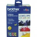 Image 3 of Brother Lc38cl3pk Lc-38 Colour Value Pack For Dcp-145c/ 165c LC-38CL 3PK