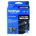 Image 2 of Brother Lc67bk Black Ink Cartridge For Dcp-385c