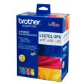 Image 3 of Brother Lc67cl3pk Lc-67 Colour Value Pack For Dc-385c LC-67CL 3PK