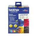Image 2 of Brother Lc67pvp Lc-67 Photo Value Pack (with 40 Photo Sheet) For Dcp-385c LC-67PVP