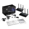 Image 4 of Asus Rt-ac67u Aimesh Ac1900 Wifi System 2 Pack Asus Rt-ac67u RT-AC67U AiMesh2