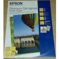 Image 4 of Epson S041332 A4 Semigloss Premium Paper 20 Sheets C13S041332