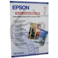 Image 3 of Epson S041334 A3 Semigloss Photo Paper 20 Sheets C13S041334