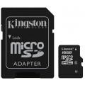 Image 5 of Kingston 16gb Microsdhc Class 4 Flash Card Sdc4/16gb