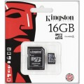 Image 4 of Kingston 16gb Microsdhc Class 4 Flash Card Sdc4/16gb